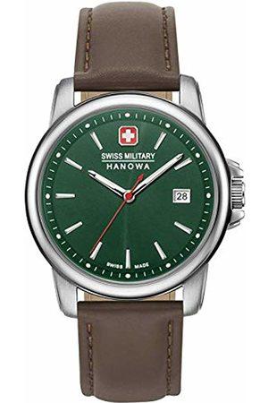 Swiss Military Hanowa Unisex Adult Analogue Quartz Watch with Stainless Steel Strap 06-4230.7.04.006
