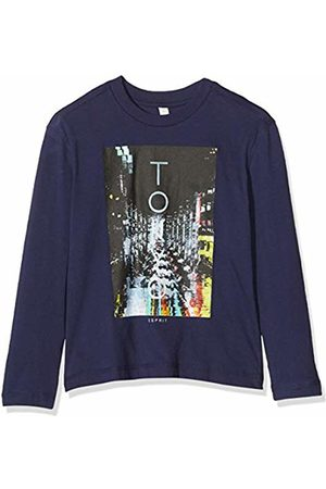 Esprit Kids Boy's Rq1005612 T-Shirt Ls Long Sleeve Top, (Midnight 485)