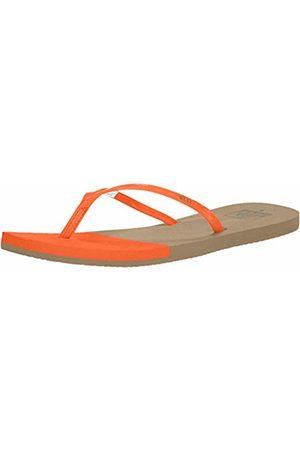 Reef Women's Bliss Toe Dip Flip Flops, (Flame Flm)