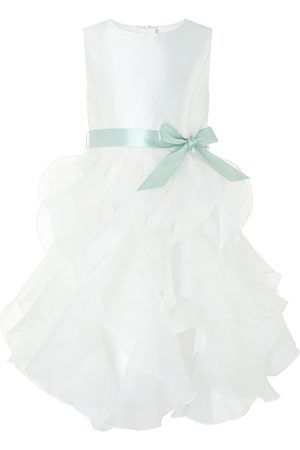Monsoon Girls Cannes Organza Ruffle Dress