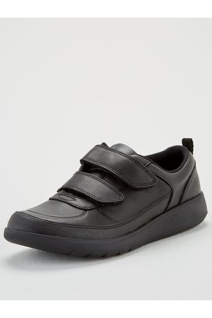 Clarks Boys Youth Scape Flare School Shoes