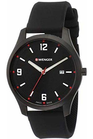 Wegner Unisex Analogue Quartz Watch with Silicone Strap 01.1441.111