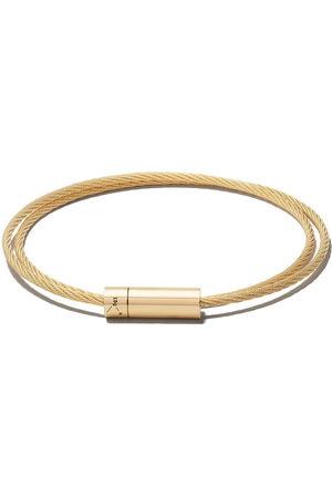 Le Gramme Bracelets - 18kt polished yellow Le 15 Grammes Double Cable Bracelet