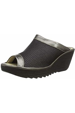 Fly London Women Sandals - Women's YENO164FLY Mules, ( /Bronze 005)