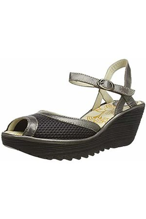 Fly London Women's YANS190FLY Open Toe Sandals, ( /Bronze 005)
