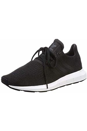 adidas Swift Run, Boys' Fitness, Gray (Carbon/Negbas/Brgrin 000)