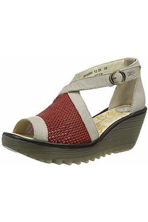 Fly London Women's YACE163FLY Open Toe Sandals, ( /Concrete/ 001)