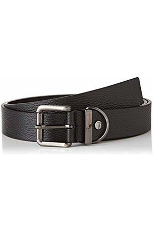 Trussardi Jeans By Trussardi Men's Belt H.3,5 Tumbled Leather Gal
