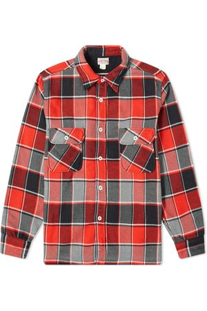 The Real McCoys The Real McCoy's 8HU Napped Flannel Shirt