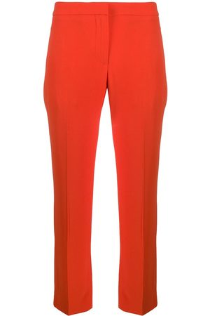 Alexander McQueen Women Trousers - High-waisted cropped trousers