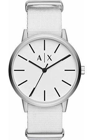 Armani Exchange Quartz Watch with Nylon Strap AX2713