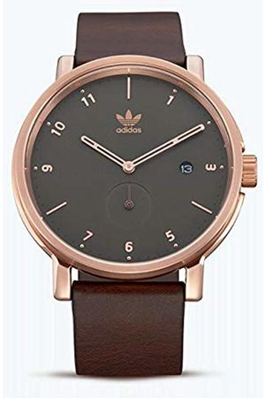 Adidas by Nixon Men's Analogue Quartz Watch with Leather Strap Z12-3038-00
