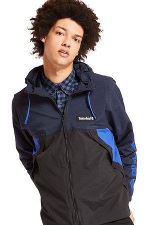 Timberland Full-zip windbreaker for men in navy navy, size 3xl