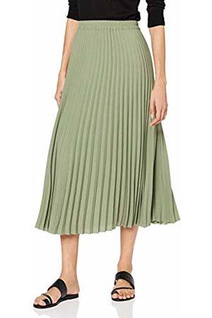 Selected Women's Slfjosie Mw Midi Skirt Ex