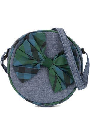 Familiar Boys Bow Ties - Checked bow detail shoulder bag