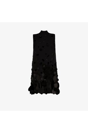 Prada Turtleneck sleeveless mini dress