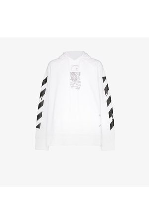 OFF-WHITE Dripping Arrows print hoodie