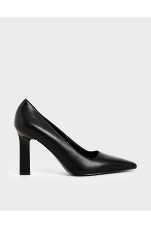 CHARLES & KEITH Blade Heel Court Shoes
