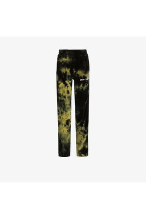 Palm Angels Tie-dye chenille sweatpants