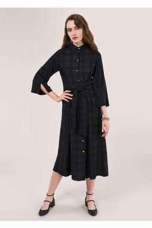 Closet FRONT TIE SHIRT DRESS