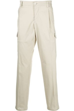 Prada Cropped cargo trousers - Neutrals