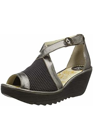 Fly London Women's YACE163FLY Open Toe Sandals, ( /Bronze 005)