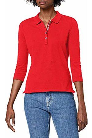 Tommy Hilfiger Women's New TH Essential Polo 3/4 SLV Shirt