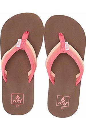 Reef Girls' Kids Ahi Beach Flip Flops, (Raspberry Ras)