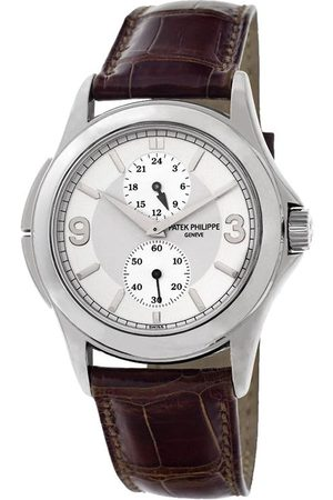 PATEK PHILIPPE 2006 pre-owned Travel Time 37mm