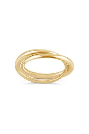 Dinny Hall 10k Signature Duo Ring