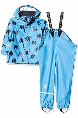 CeLaVi Boy's Zweiteiliger Regenanzug Mit Elefanten Druck Und in Vielen Farben Waterproof Jacket