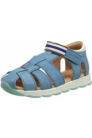 Bisgaard Unisex Kids' Cali Closed Toe Sandals, (Jeans 1702)