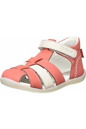 Kickers Baby Girls' Bigflo-2 Sandals, (Rose Blanc 132)