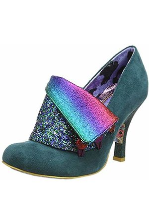 Irregular Choice Women's Flick Flack Closed Toe Heels, ( Glitter Di)