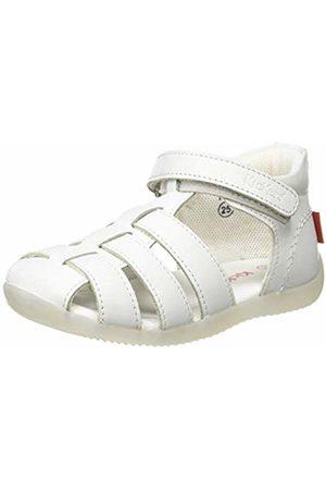 Kickers Unisex Babies' Bigflo-2 Sandals, (Blanc 3)