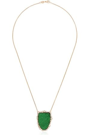 Kimberly McDonald Women Necklaces - 18kt rose gold diamond pendant necklace
