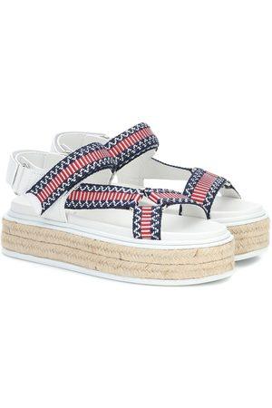 Prada Nomad platform sandals