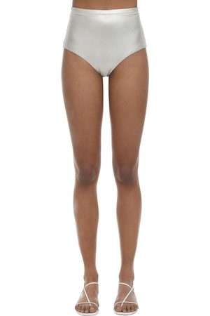 ARABELLA LONDON High Waist Shimmery Bikini Bottoms