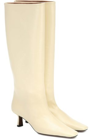 Neous Slouchy knee-high leather boots