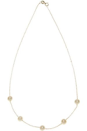 Anissa Kermiche Frost In May Freshwater Pearl & Gold Choker - Womens - Pearl