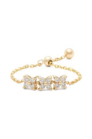 Anissa Kermiche Brontë Diamond & Chain Ring - Womens