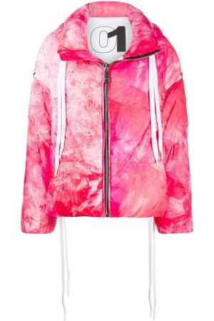 Khrisjoy Women Jackets - Tie-dye padded jacket