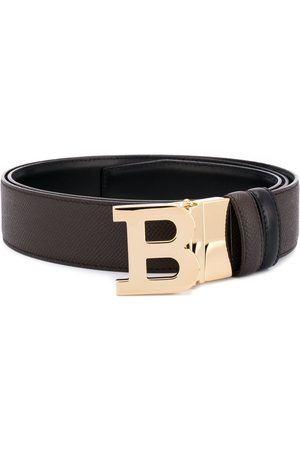 Bally B logo buckle belt