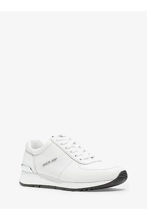 Michael Kors Allie Leather Sneaker