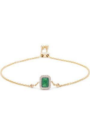 Anissa Kermiche May Emerald, Diamond & 14k Gold Bracelet - Womens