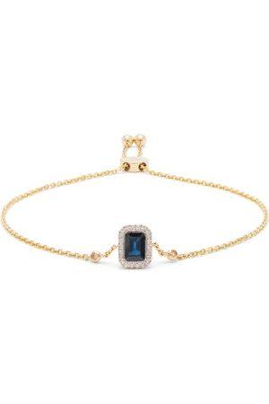 Anissa Kermiche September Diamond, Sapphire & 14kt Gold Bracelet - Womens