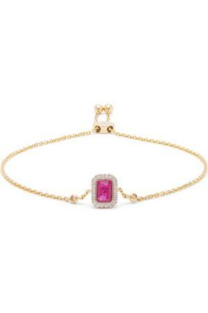 Anissa Kermiche July Diamond, Ruby & 14kt Gold Bracelet - Womens