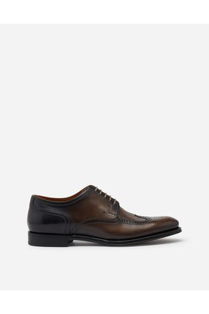 Dolce & Gabbana Collection - BROGUE DERBY IN GIOTTO PAINT CALFSKIN