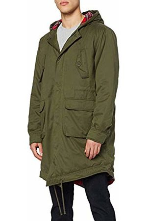 Merc London Of London Men's Tobias Parka Long Sleeve Coat