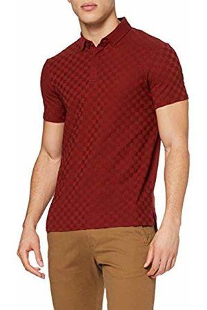 Armani Men's Jacquard Slim Fit Polo Shirt